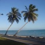 Orla da praia Pajuçara, uma das mais famosas praias de Maceió