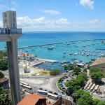 Vista para o Mercado Modelo do Elevador Lacerda - Salvador Bahia